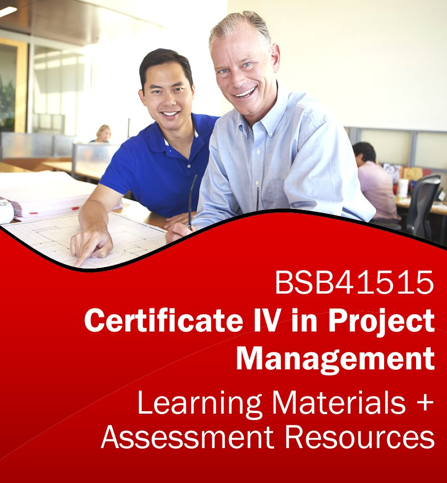 Certificate iv in project management learning resources bsb41515 certificate iv in project management xflitez Image collections