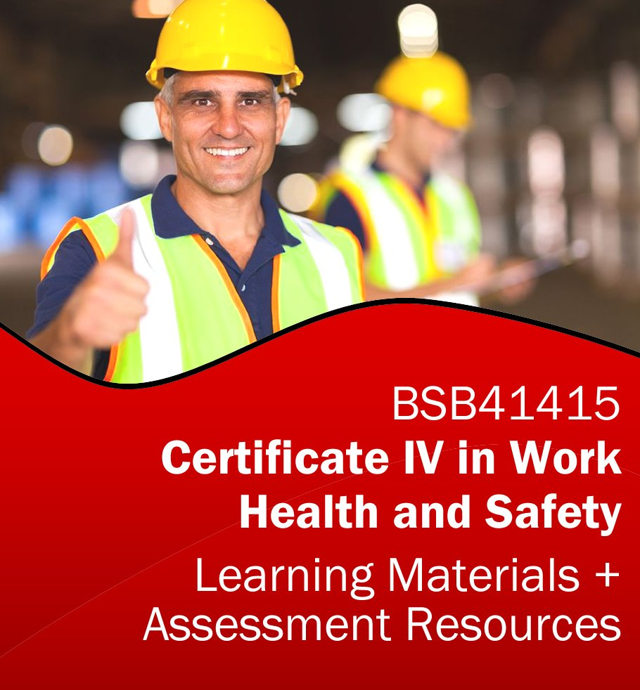 Certificate iv in project management learning resources bsb41515 certificate iv work health and safety assessment tools and training resources bsb41415 bundle xflitez Image collections