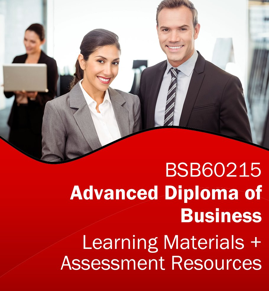 BSB60215 Advanced Diploma of Business Learning and Assessment Tools Bundle
