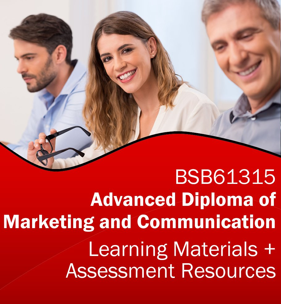 BSB61315 Advanced Diploma of Marketing and Communication Learning and Assessment Tools Bundle