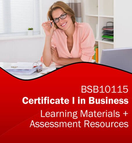 BSB10115 Certificate I in Business Learning and Assessment Tools Bundle