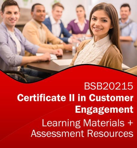 BSB20215 Certificate II in Customer Engagement Learning and Assessment Tools Bundle