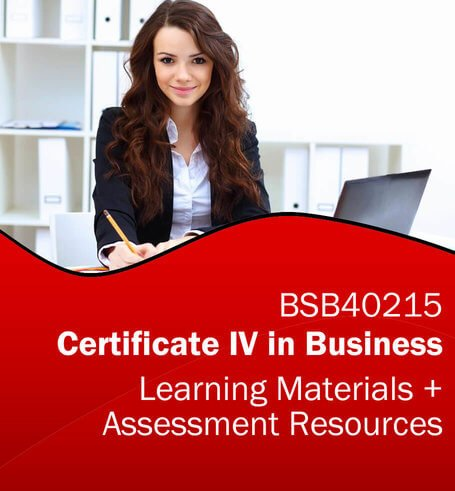 BSB40215 Certificate IV in Business Learning and Assessment Tools Bundle