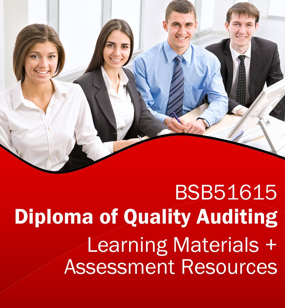 BSB51615 Diploma of Quality Auditing Learning and Assessment Tools Bundle