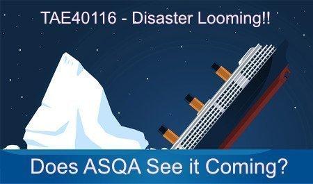 TAE40116 Disaster