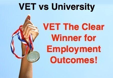 VET Winner for Jobs