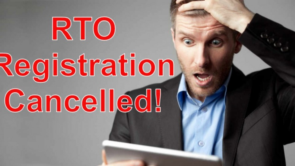 RTO-Reg-Cancelled