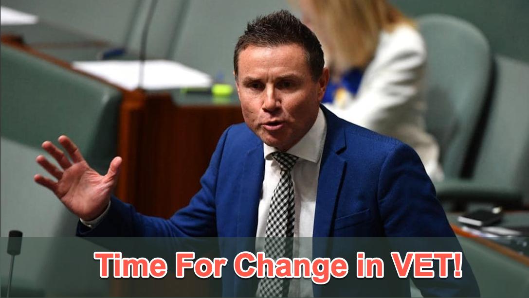 Andrew Laming - VET Parliamentary Speech