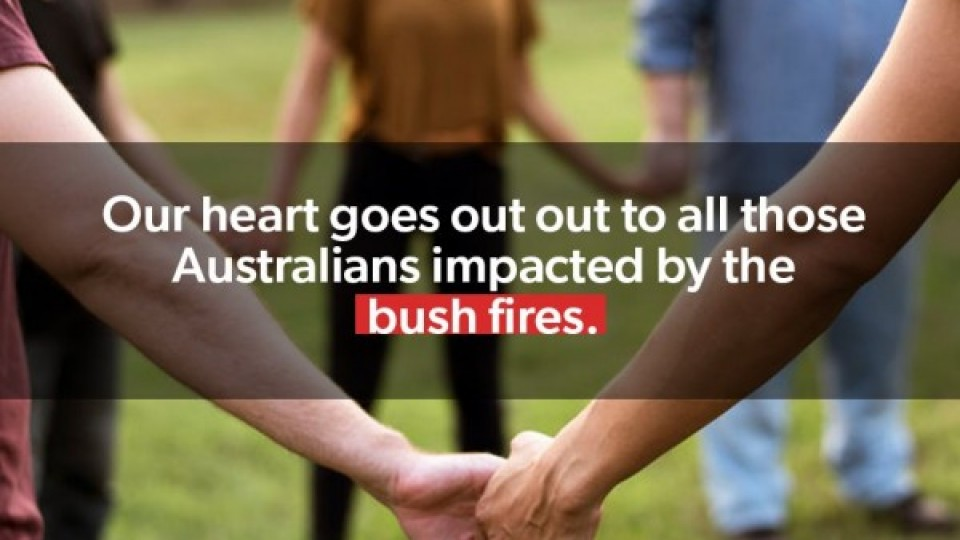 Bushfire Relief Fund Donation January 2020