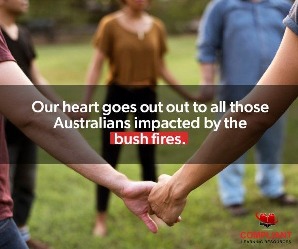 Compliant Learning Resources is donating 5% of resource sales to Red Cross Bushfire Relief in January 2020