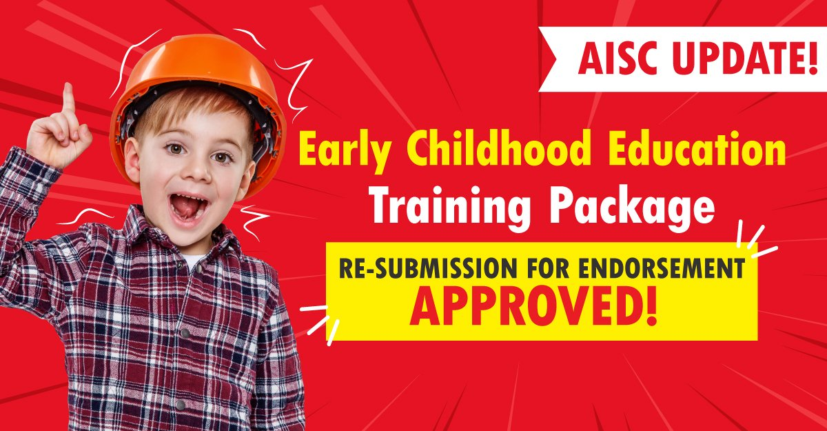 2021 Children's Education and Care Training Package Approved